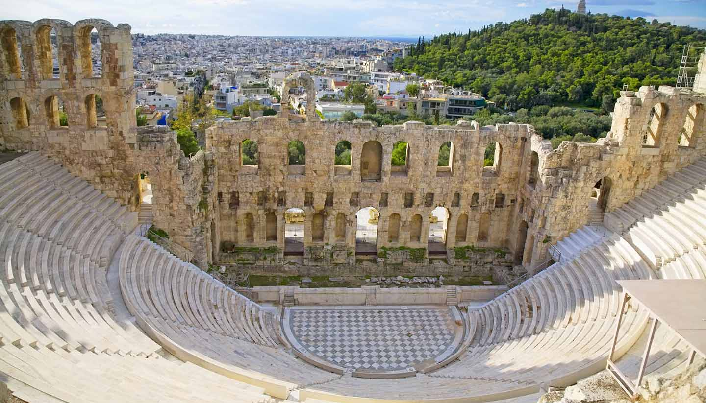 Athens - Odeon of Herodes Atticus, Greece