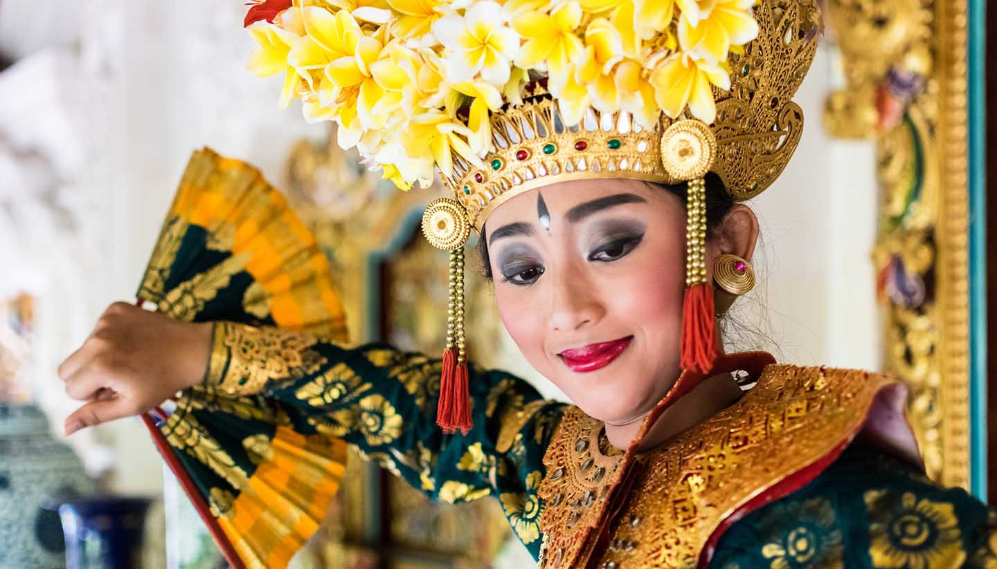 Indonesia - Balinese Dancer, Indonesia