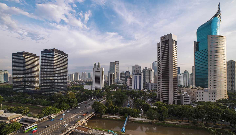 Jakarta - The Jakarta Skyline, Indonesia