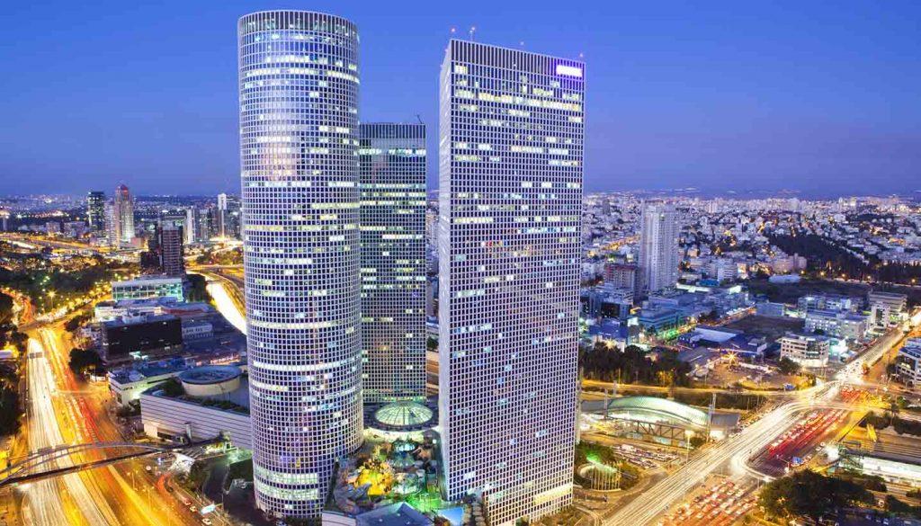 Israel - Tel Aviv at sunset, Israel