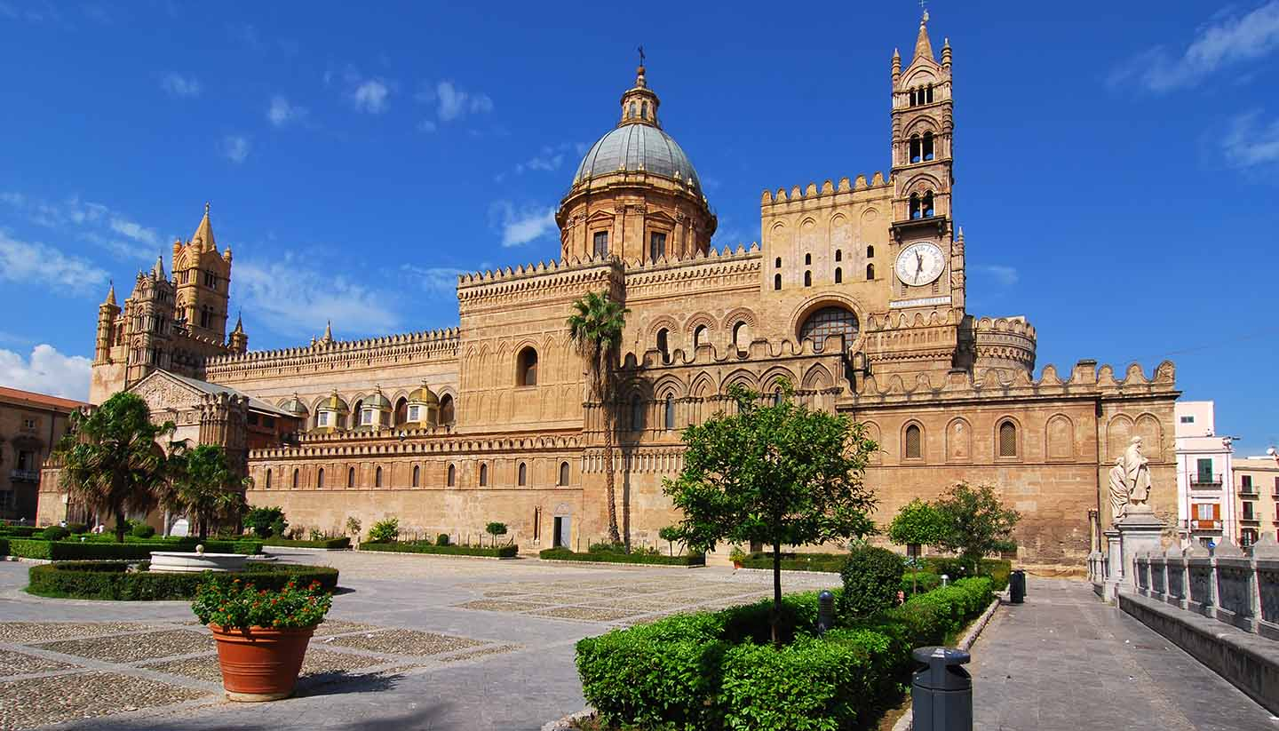 Palermo - Palermo cathedral, Italy