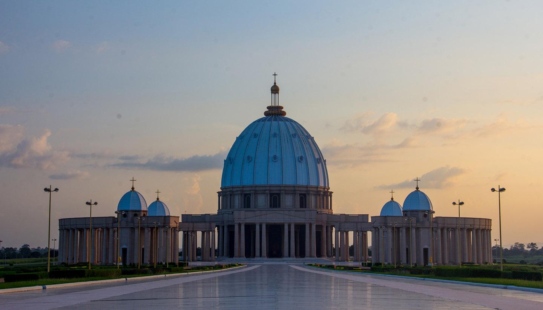 Ivory Coast - Yamssoukro Cathedral, Ivory Coast