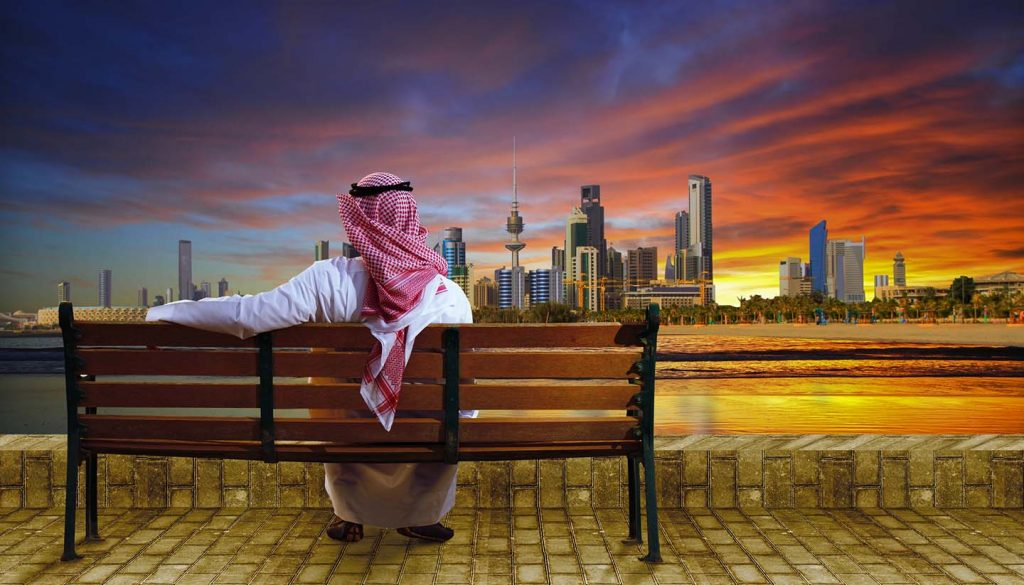 Kuwait - Kuwait City During Sunset