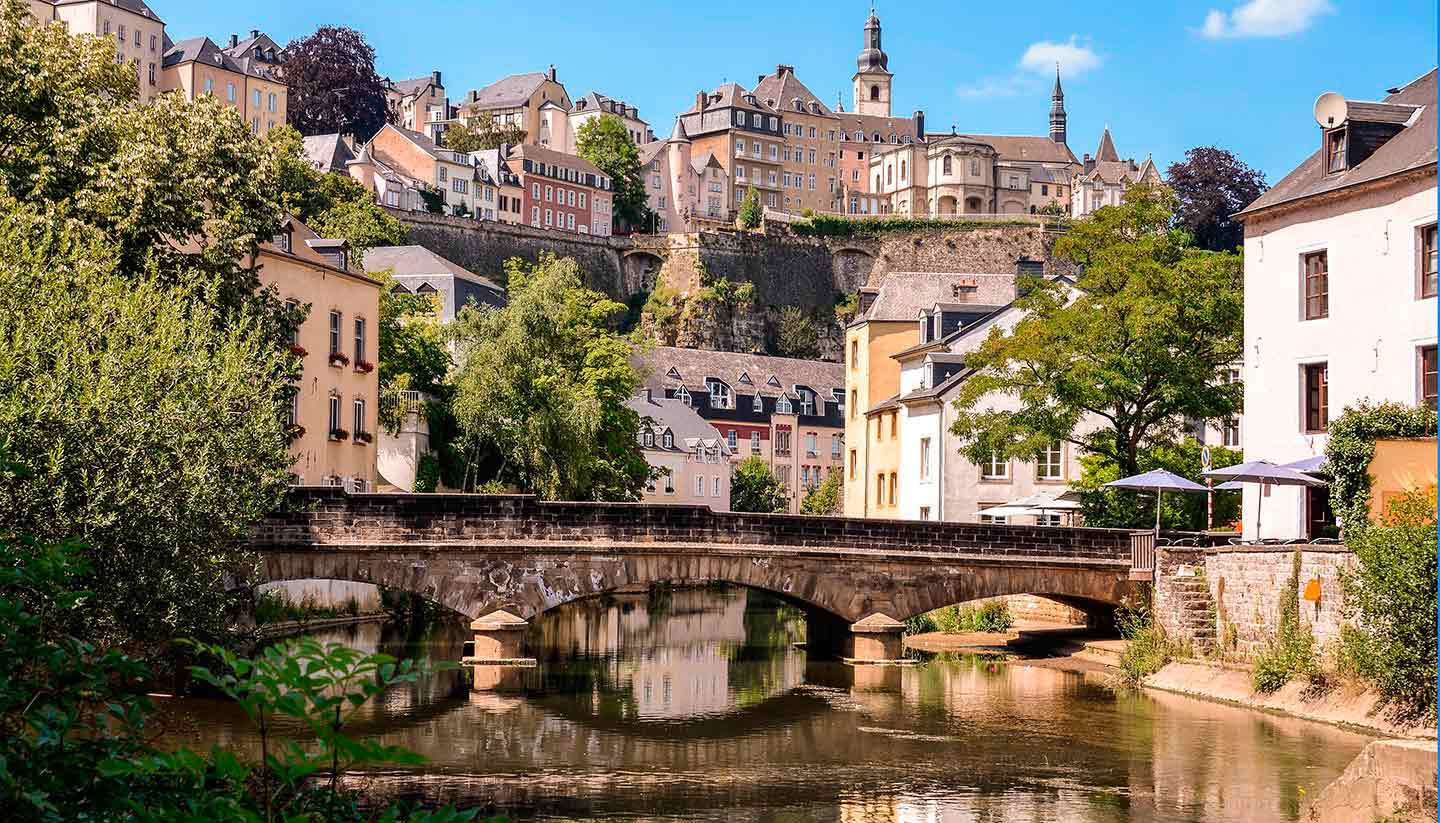 Luxembourg - Grund, Luxembourg
