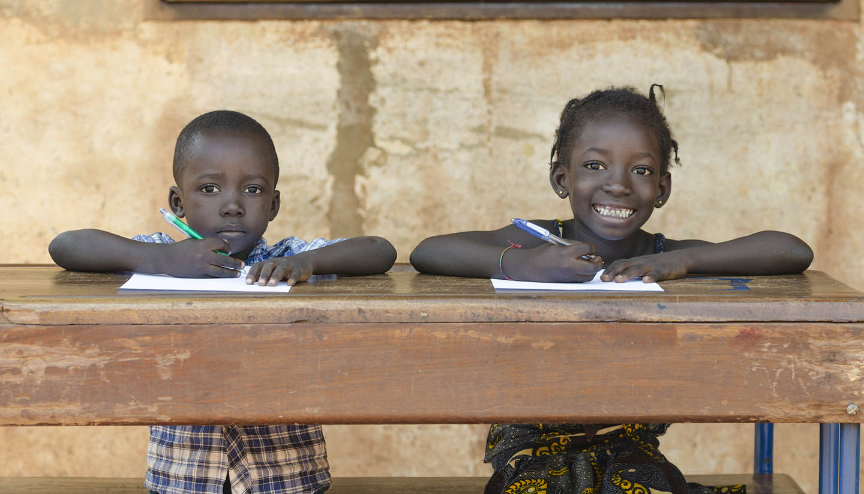 Mali - African School Kids in Bamako, Mali