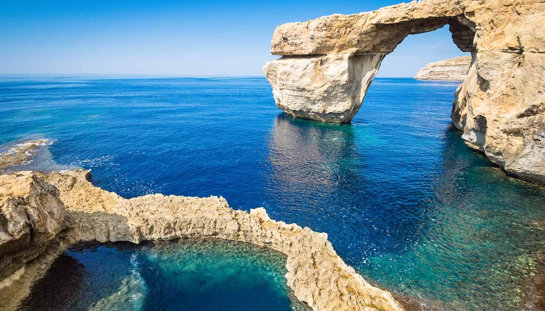 Malta - Azure Window in Gozo - Malta Island