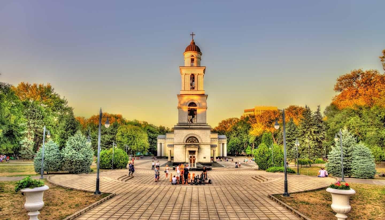 Moldova - Bell Tower of The Nativity Cathedral - Moldova