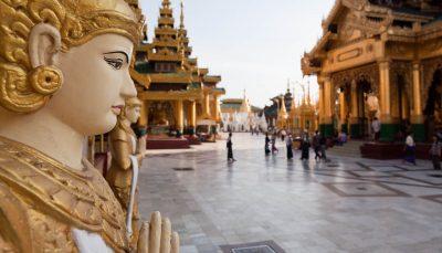 Schwedagon Pagoda, Myanmar