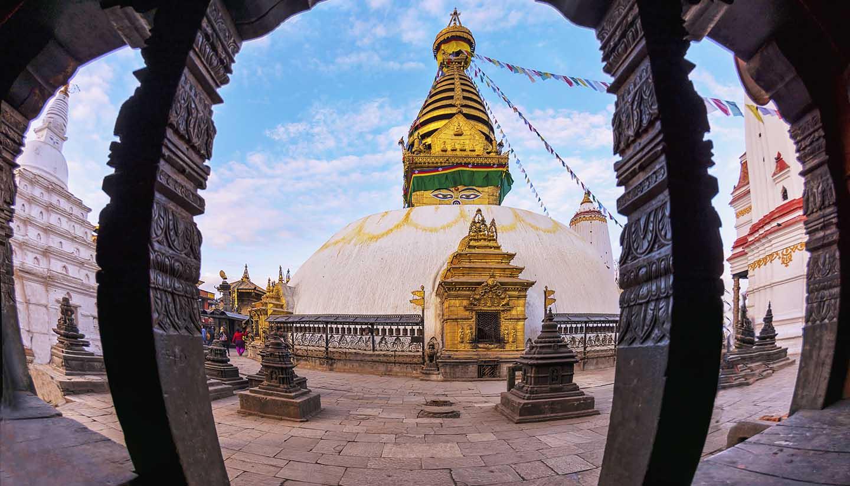 Kathmandu - Swayambhunath Stupa Kathmandu, Nepal