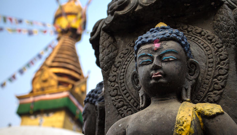 Kathmandu - Buddha Statue in Kathmandu, Nepal