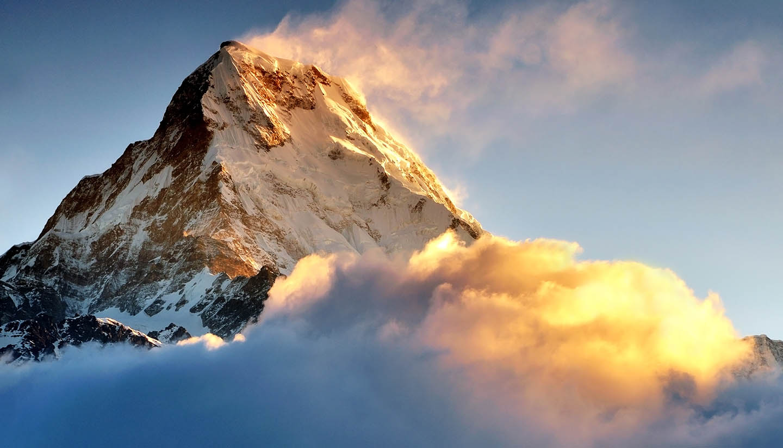 Nepal - Machapuchare, Annapurna Himalaya, Nepal