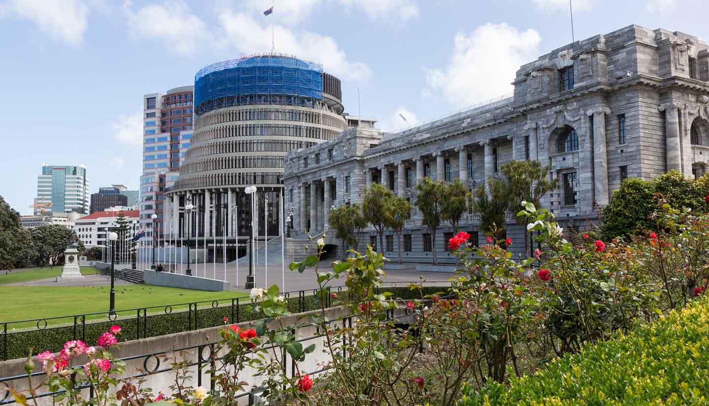 Wellington - Wellington Parliament, NewZealand