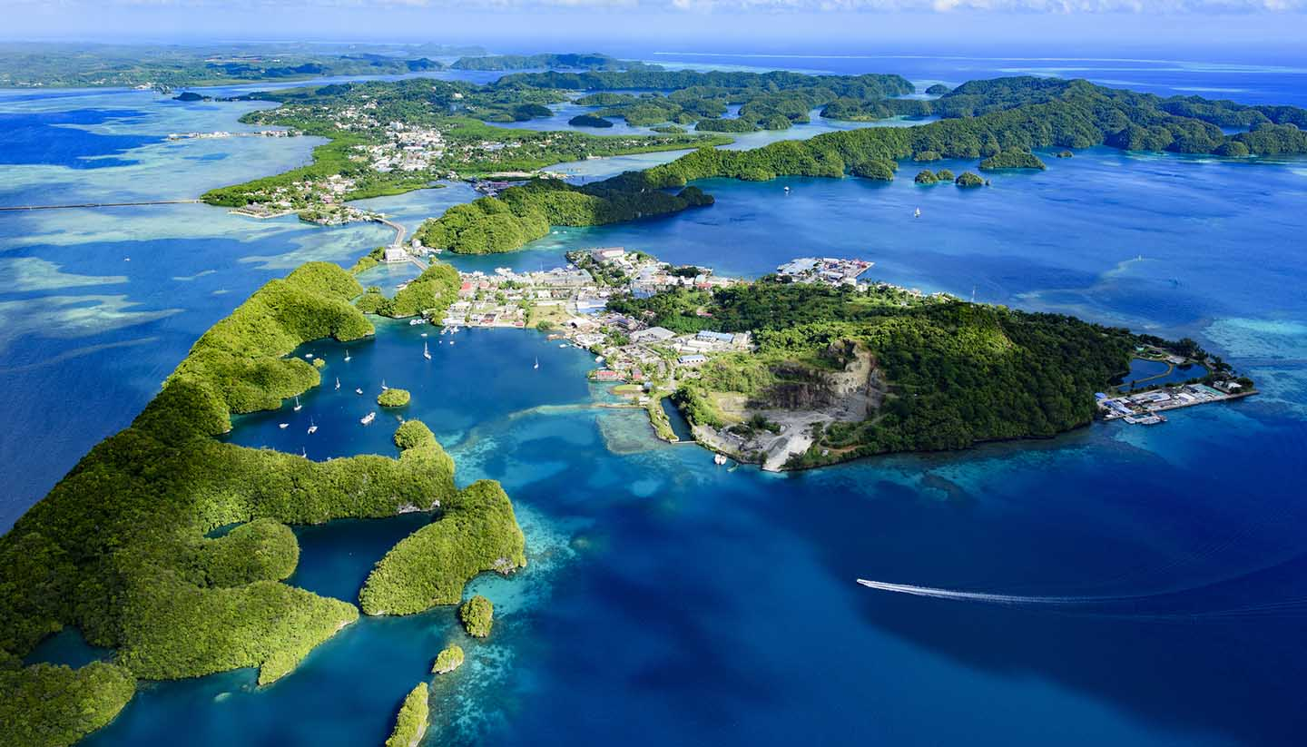 Pacific Islands Of Micronesia - Malakal Island and Koror, Palau