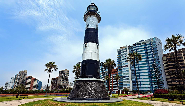 Lima - Miraflores Lighthouse, Peru