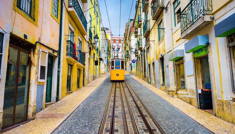 Lisbon - Tram, Lisbon, Portugal