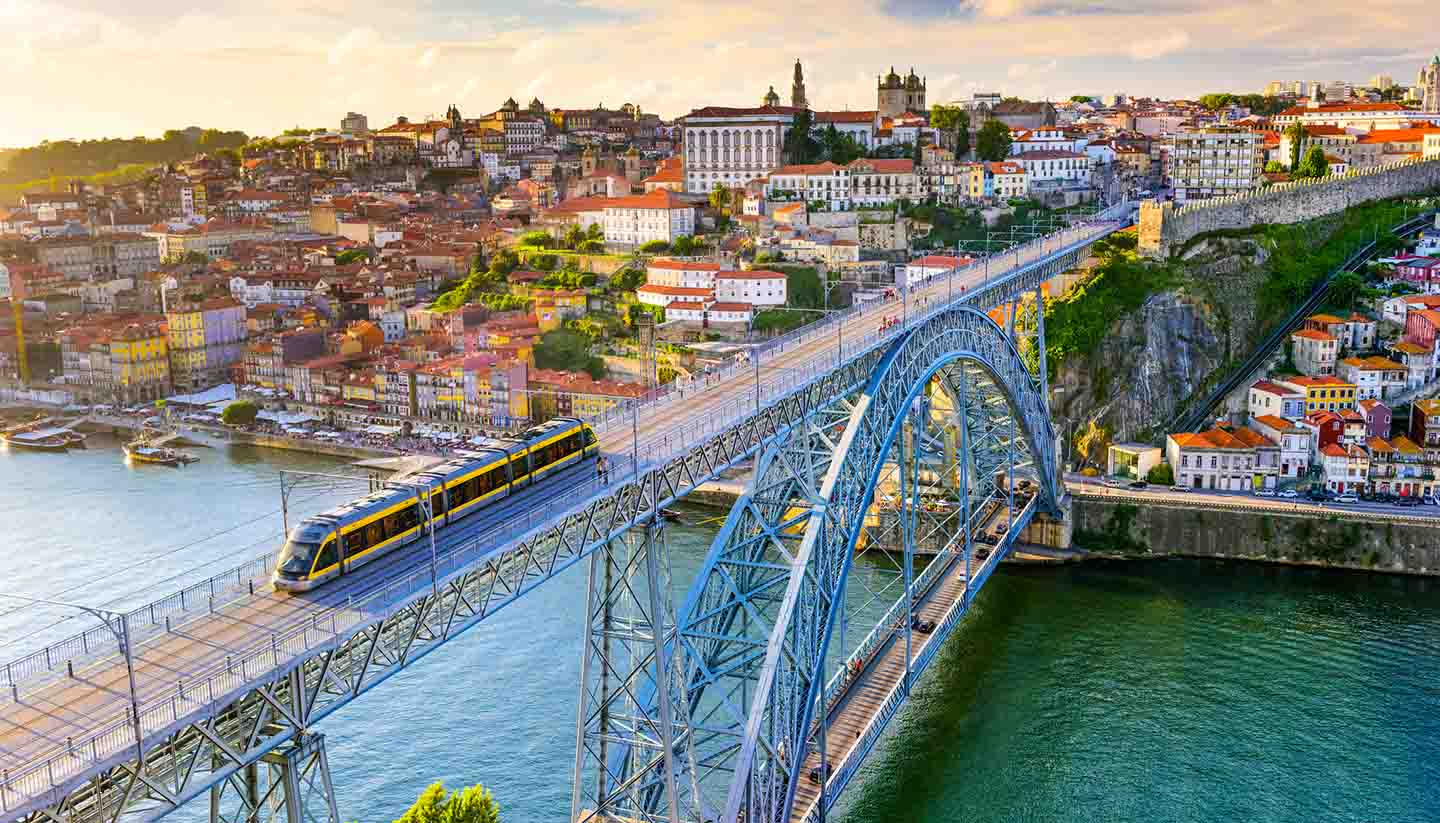 Portugal - Dom Luis I Bridge, Porto, Portugal