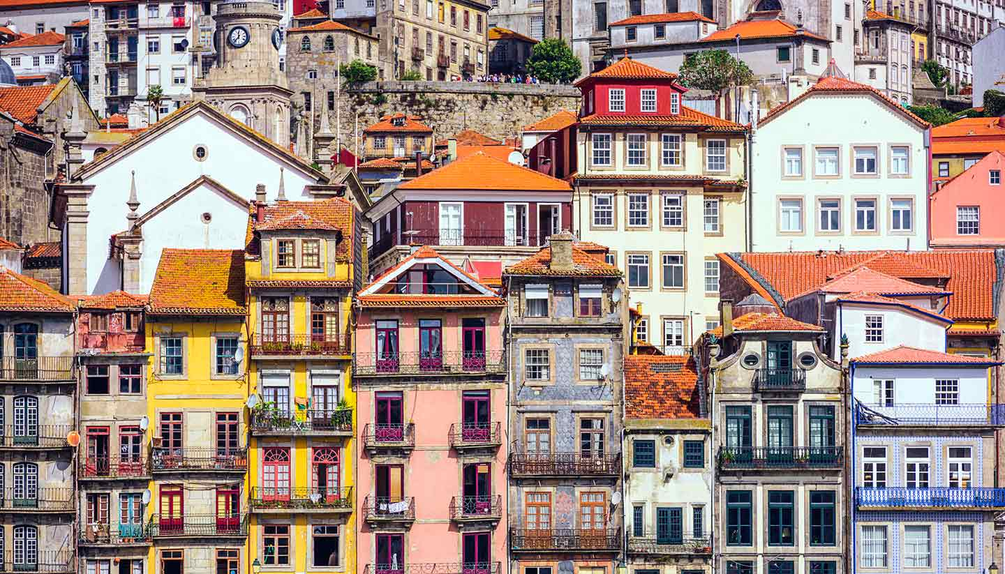 Porto - Buildings in Porto, Portugal