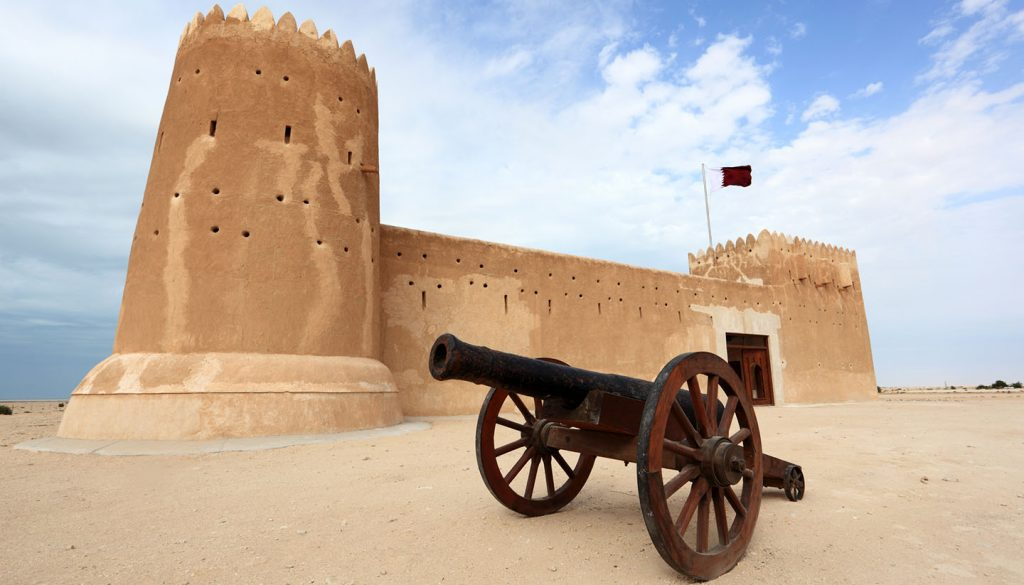 Qatar - Al Zubarah fort in Qatar, Middle East
