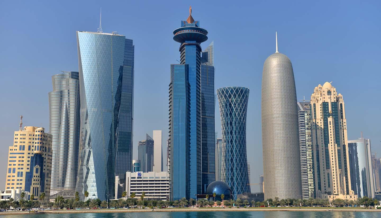 Doha - Doha Skyline, Qatar
