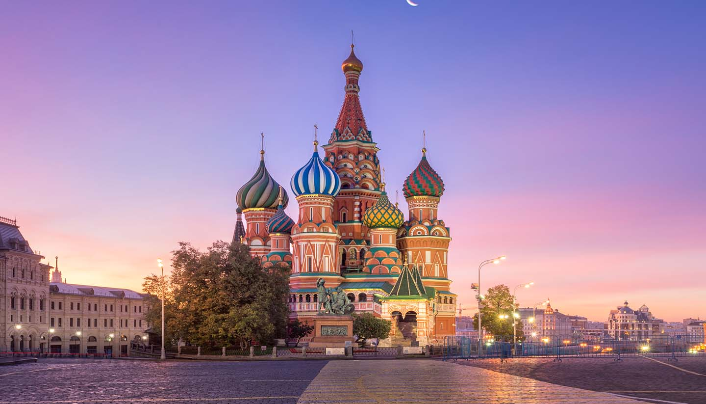 Moscow - St. Basil's Cathedral, Moscow, Russia