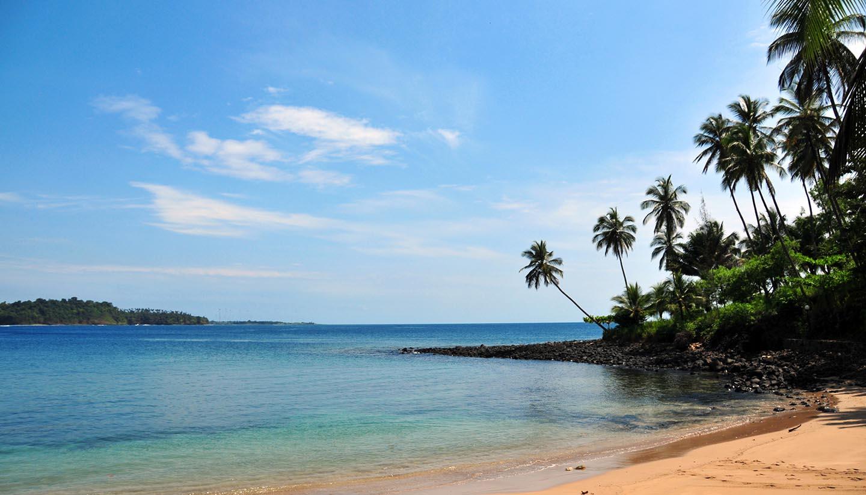 São Tomé e Príncipe - Beach & Santana Cove, SaoTomeAndPrincipe