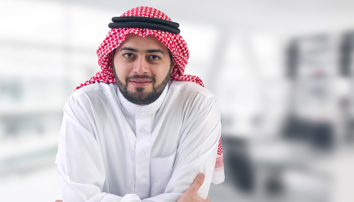 Saudi Arabia - Saudi Business Man