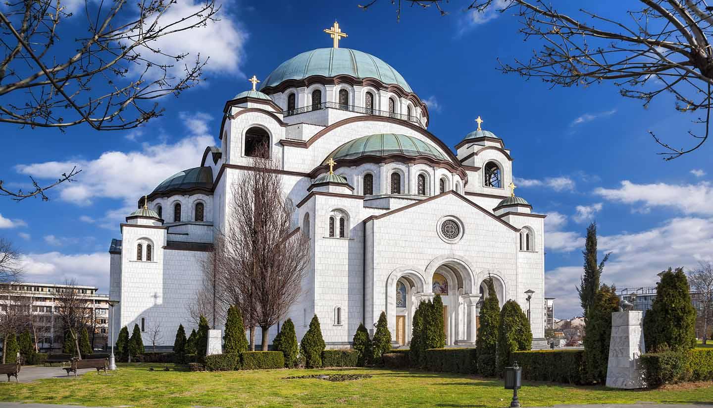 Belgrade - St. Sava Cathedral in Belgrade, Serbia