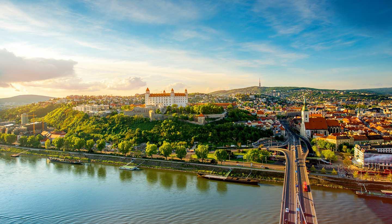 Bratislava - Bratislava Cityscape, Slovakia