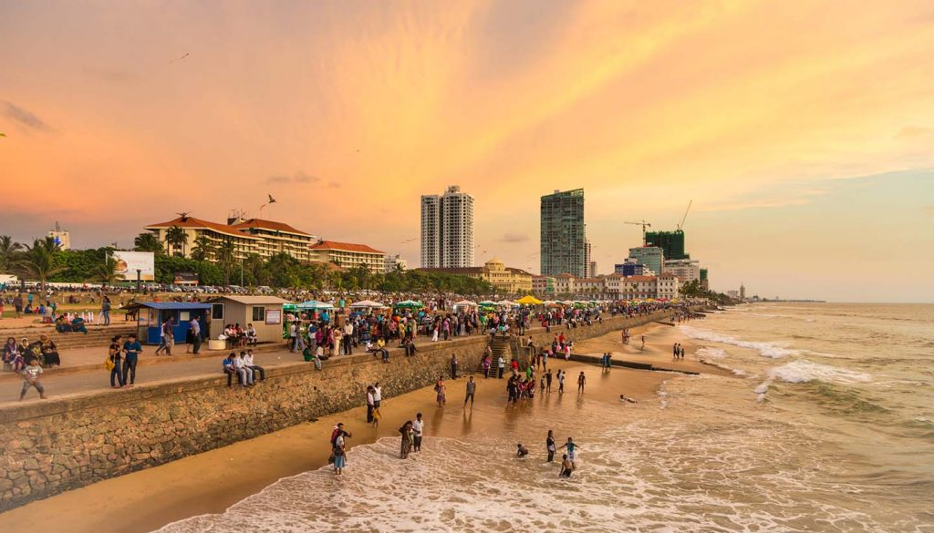 Sri Lanka - Colombo Seafront, Srilanka