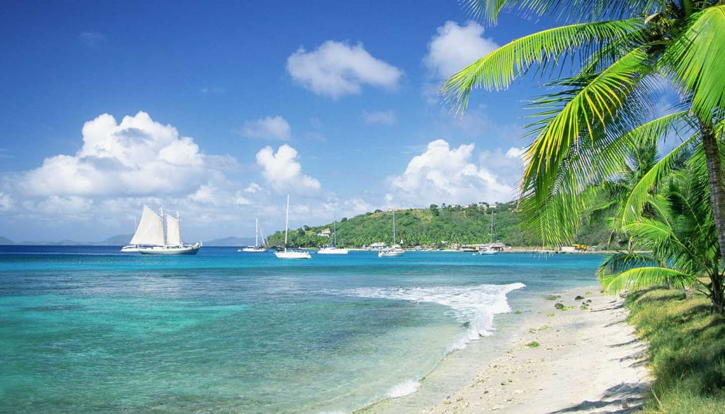 St Vincent and the Grenadines - Beach View, StVincentGrenadines