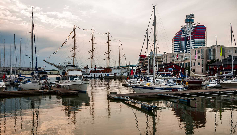 Gothenburg - The City Harbor Gothenburg, Sweden