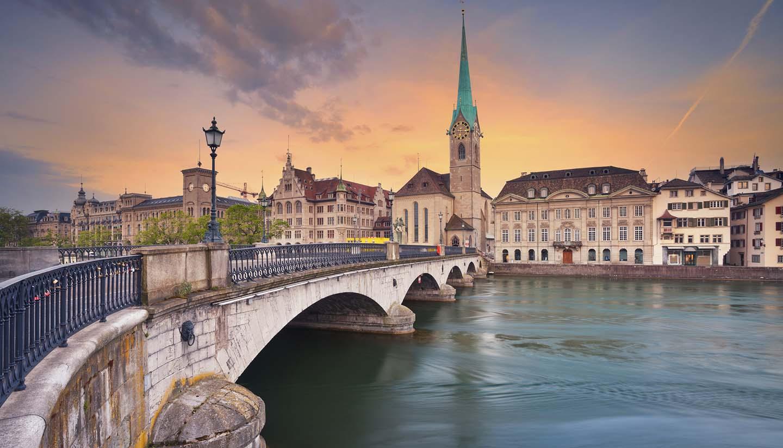 Zurich - Zurich Cityscape, Switzerland