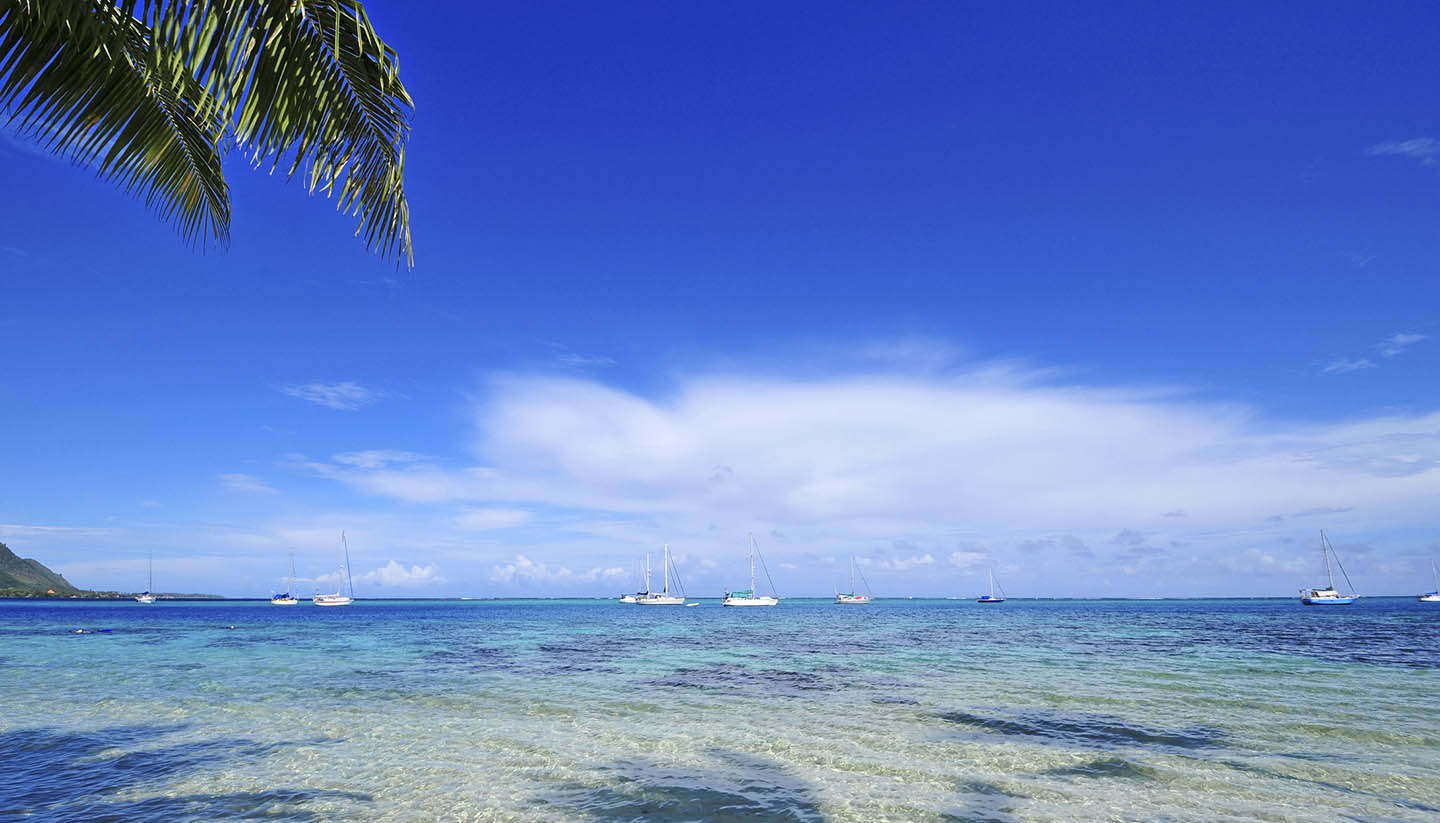 Tahiti and her Islands - Island Beach, Tahiti