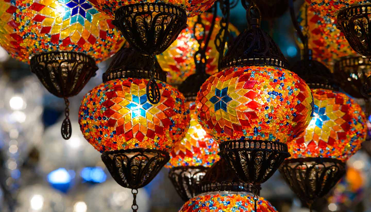 Turkey - Traditional Turkish Mosaic Lanterns