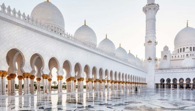 Sheikh Zayed Mosque, Abu Dhabi, UAE.