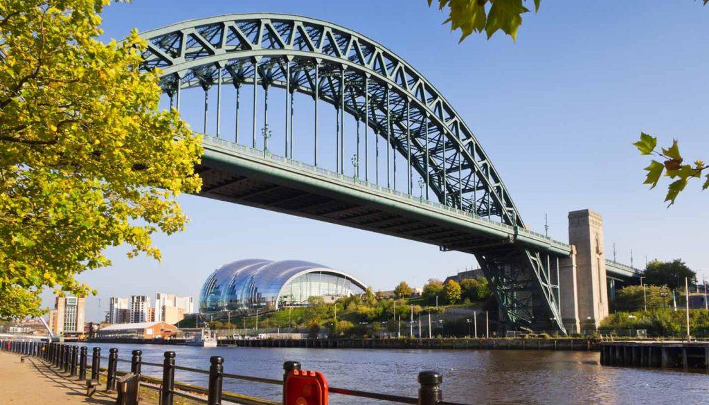 Newcastle - Tyne Bridge, New Castle, UK