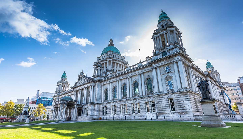 Belfast - Belfast's City Hall, North Ireland, UK