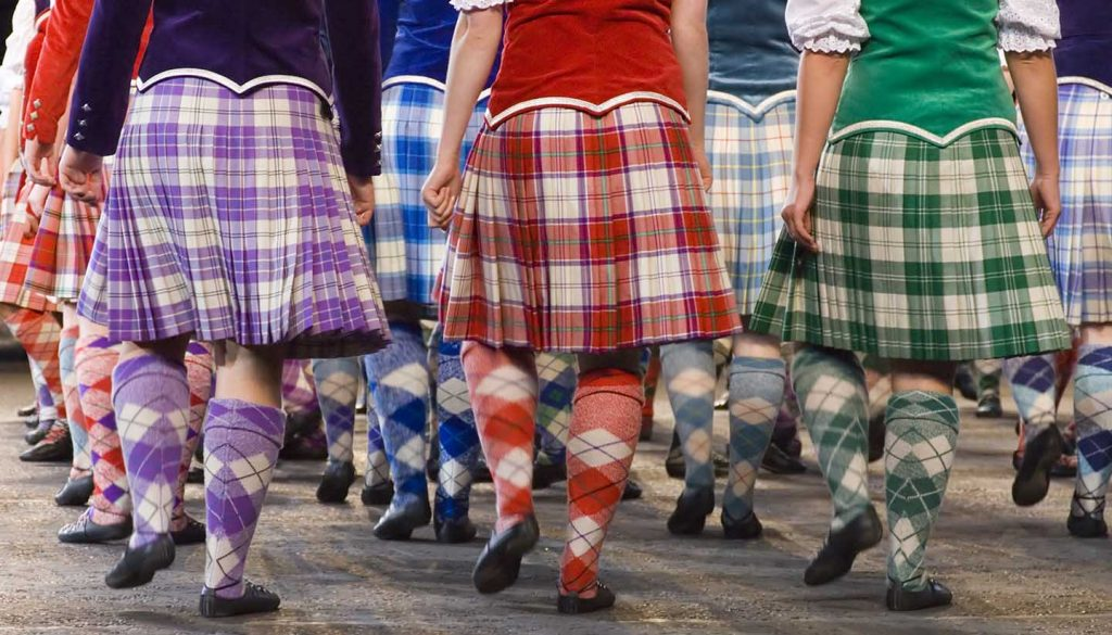 Scotland - Highland Dancers Edinburgh, UK