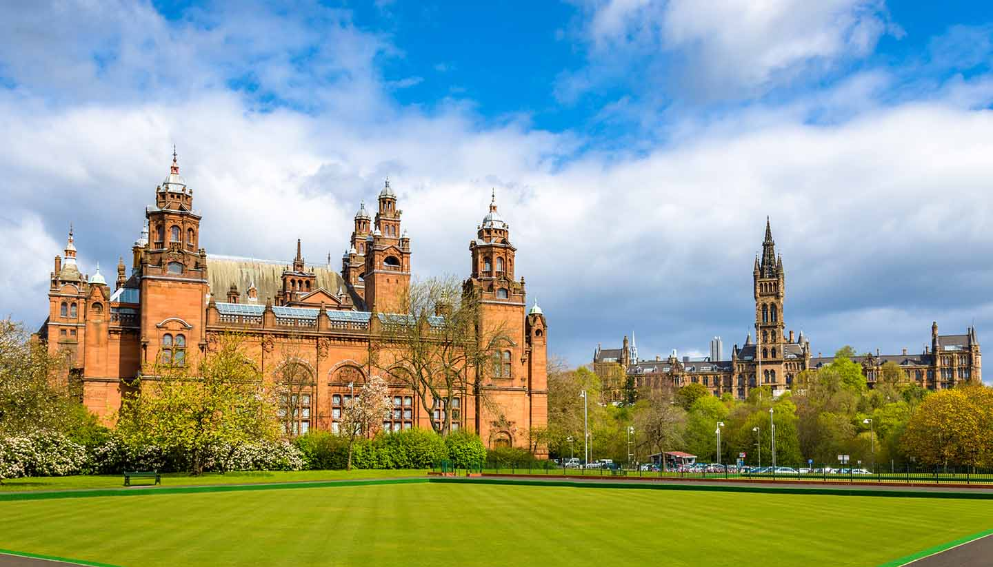 Scotland - Kelvingrove Museum and Glasgow University - Scotland (UK)