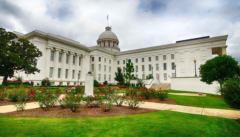 Alabama - Capitol in Montgomery, Alabama, USA