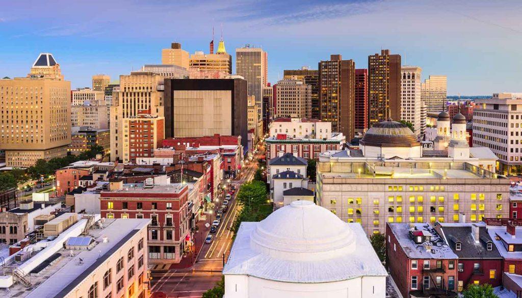 Baltimore - Baltimore Maryland's Skyline (USA)