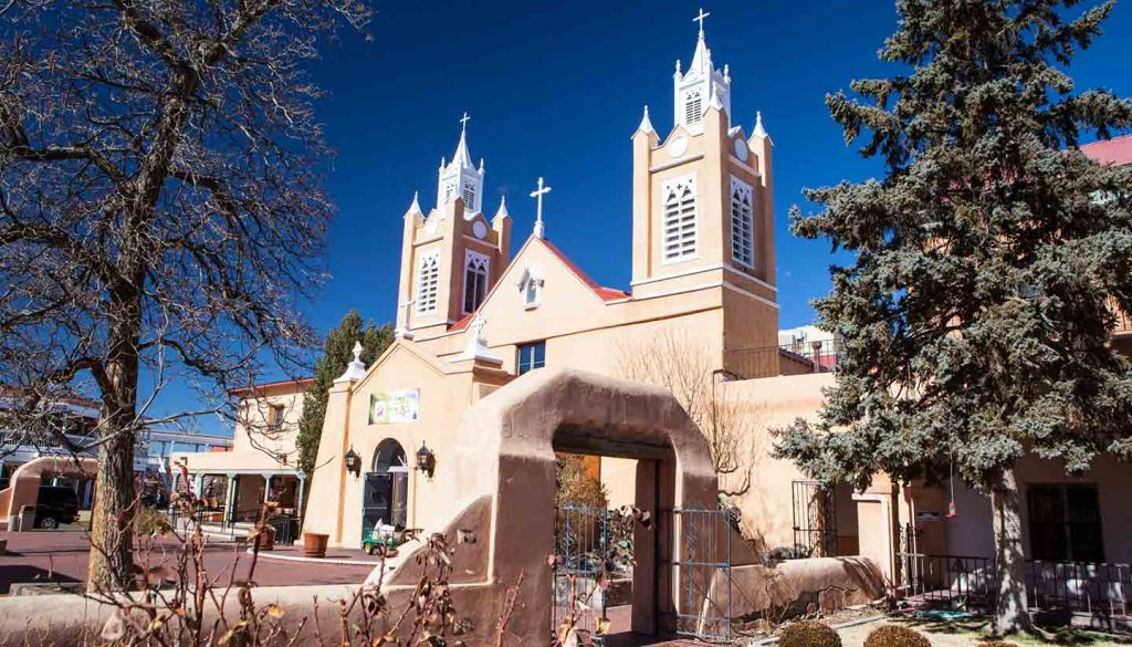 New Mexico - Neri Church, Albequerque, New Mexico, USA