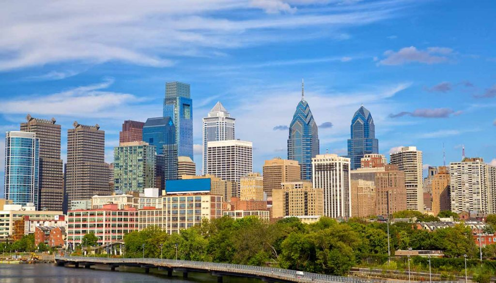 Philadelphia - Philadelphia Skyline, Pennsylvania, USA