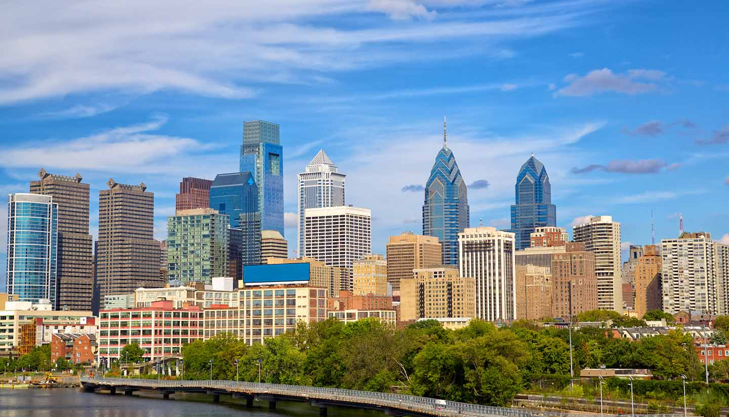 Pennsylvania - Philadelphia Skyline, Pennsylvania, USA