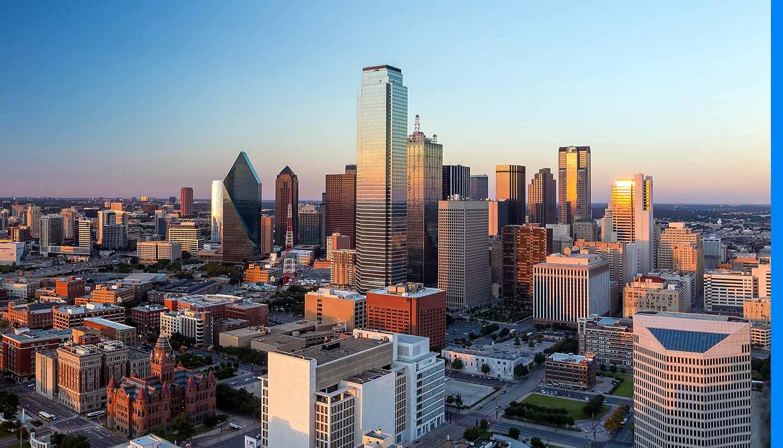 Dallas - Dallas, Texas Cityscape, USA