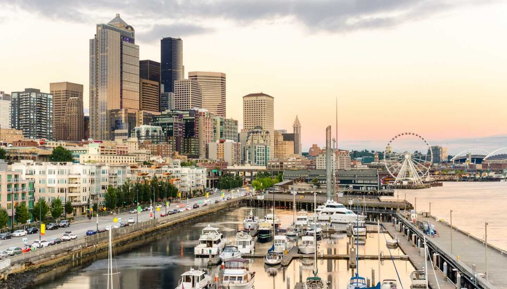 Seattle - Seattle Waterfront, Washington, USA