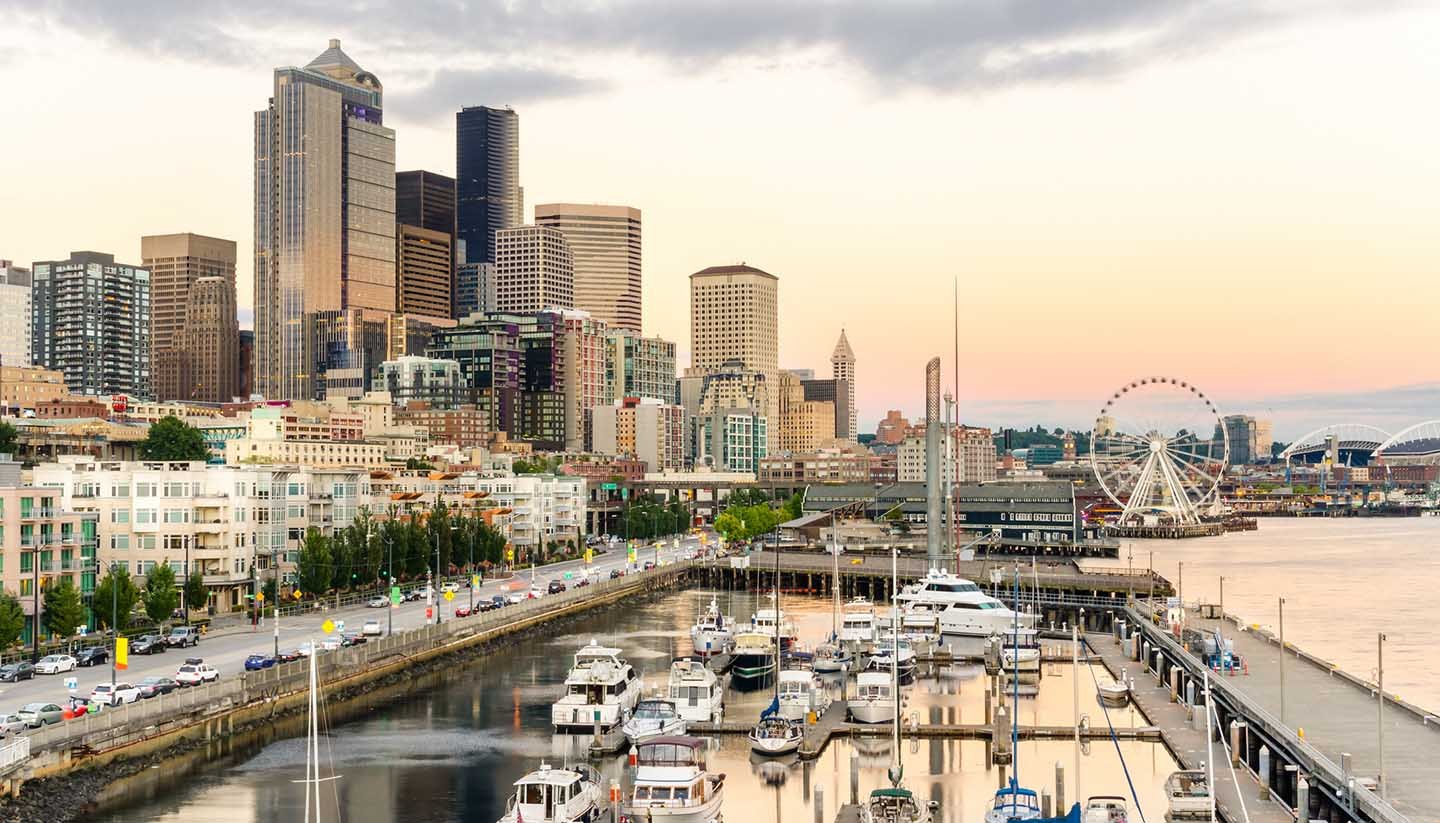 Seattle - Seattle Waterfront, Washington, USA