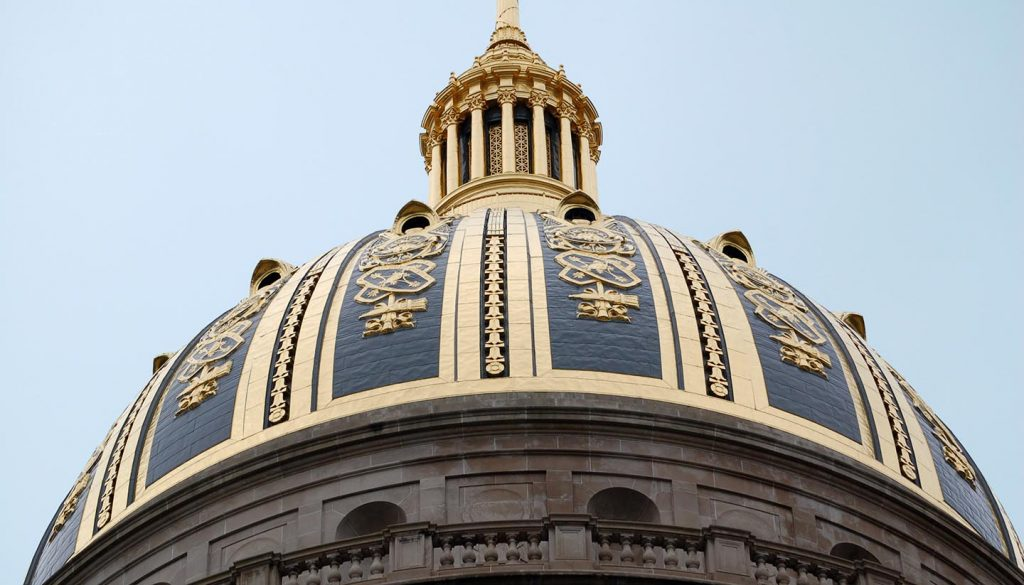West Virginia - Capitol Dome, Charleston, West Virginia, USA