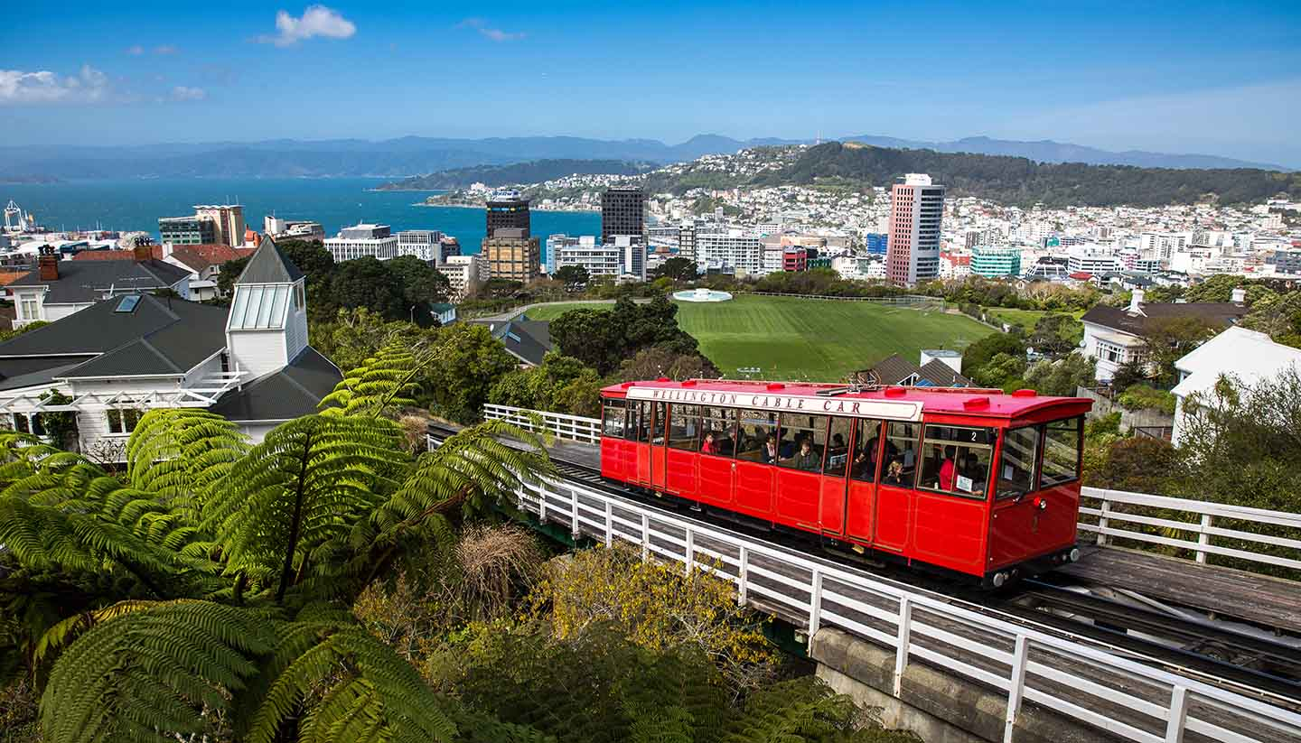 Wellington - Wellington Cable Car, NewZealand