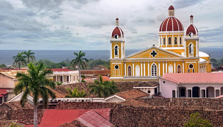 Nicaragua - Cathedral Granada, Nicaragua